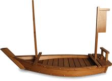 Sushiboot bamboe