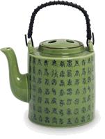 High teapot