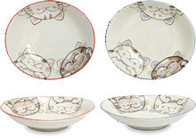 Oval dishes