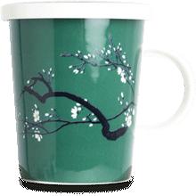 Tea mug with filter