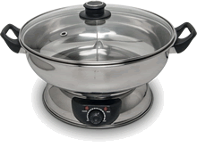 Electric hot pot, 2 compartments
